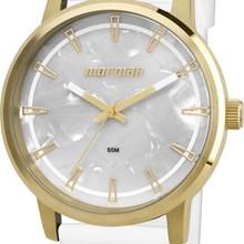 Relógio Mormaii Feminino Dourado Branco MO2035DN/8B