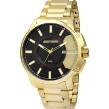 Relógio Mormaii Masculino Dourado Preto MO2315AAC/4P