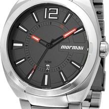 Relógio Mormaii Masculino Prata Cinza MO1974/1C