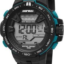 Relógio Mormaii Masculino Preto Verde MO3390/8V