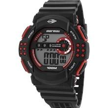 Relógio Mormaii Masculino Preto Vermelho MO11540/8R