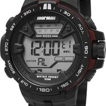 Relógio Mormaii Masculino Preto Vermelho MO3390/8R