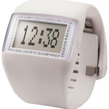 Relógio Odm Feminino Quadrado Branco DD99B6C BXBX