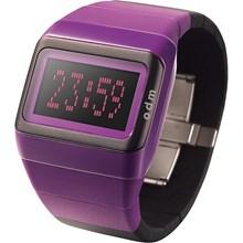 Relógio Odm Feminino Quadrado Preto Lilás SDD99B8 PXUP
