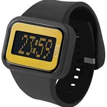 Relógio Odm Rainbow Feminino Quadrado Preto Dourado DD125A5 PYPX