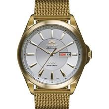 Relógio Orient Automático Masculino Dourado Branco 469GP056 S1KX