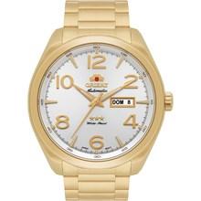 Relógio Orient Automático Masculino Dourado Branco 469GP062 S2KX