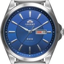 Relógio Orient Automático Masculino Prata Azul 469SS056 D1SX