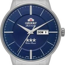 Relógio Orient Automático Masculino Prata Azul 469SS061 D1SX