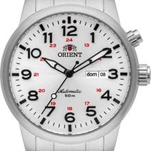 Relógio Orient Automático Masculino Prata Branco 469SS060 S2SX