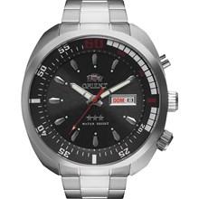Relógio Orient Automático Masculino Prata Preto 469SS059