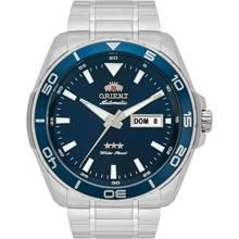 Relógio Orient Masculino Automático Prata Azul 469SS063 D1SX