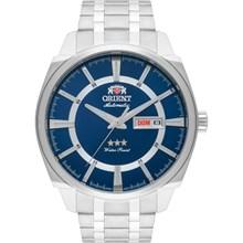 Relógio Orient Masculino Automático Prata Azul 469SS071 D1SX
