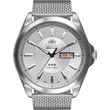Relógio Orient Masculino Automático Prata Esteira 469SS056 S1SX