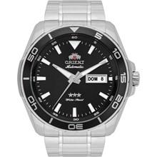 Relógio Orient Masculino Automático Prata Preto 469SS063 P1SX