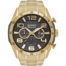 Relógio Orient Masculino Cronógrafo Dourado MGSSC015 G2KX
