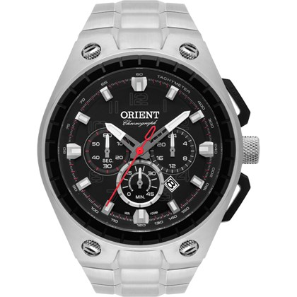 517dee9189d Relógio Orient Masculino Cronógrafo MBSSC171 P2SX - My Time