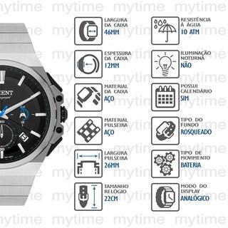 Relógio Orient Masculino Cronógrafo MBSSC221 P1SX