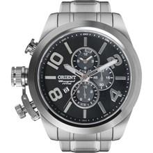 Relógio Orient Masculino Cronógrafo Prata MBSSC130 P2SX