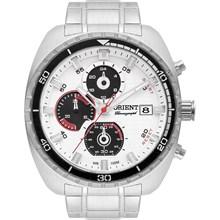 Relógio Orient Masculino Cronógrafo Prata MBSSC155 S1SX