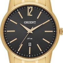 Relógio Orient Masculino Dourado Cinza MGSS1100 G2KX