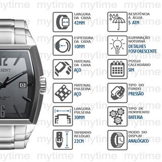 Relógio Orient Masculino GBSS1050 G2SX