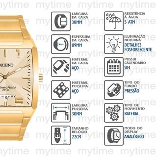 Relógio Orient Masculino GGSS1007 C2KX