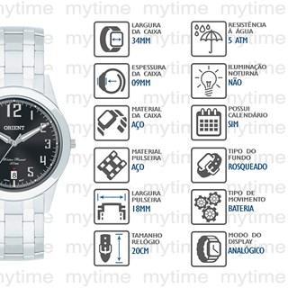 Relógio Orient Masculino MBSS1132A P2SX