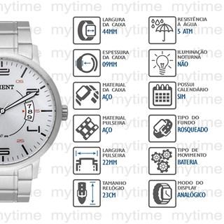 Relógio Orient Masculino MBSS1381 S2SX