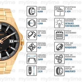 Relógio Orient Masculino MGSS1143 P1KX