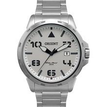 Relógio Orient Masculino Prata Branco MBSS1195A S2SX