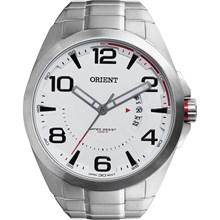 Relógio Orient Masculino Prata Branco MBSS1232 S2SX