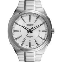 Relógio Orient Masculino Prata Branco MBSS1251 S1SX