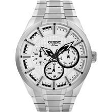 Relógio Orient Masculino Prata Branco MBSSM056 BPSX