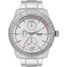 Relógio Orient Masculino Prata Branco MBSSM069 SVSX