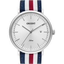 Relógio Orient Masculino Prata Colorido FBSN1001 S1DV