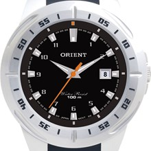 Relógio Orient Masculino Prata Preto MBSP1011 P2PX
