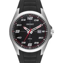 Relógio Orient Masculino Prata Preto MBSP1022 PVPX