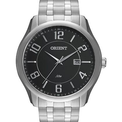 2f66557275b Relógio Orient Masculino Prata Preto MBSS1234 P2SX - My Time