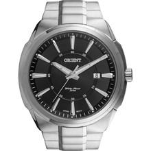 Relógio Orient Masculino Prata Preto MBSS1251 P1SX
