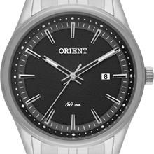 Relógio Orient Masculino Prata Preto MBSS1278 P1SX