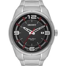 Relógio Orient Masculino Prata Preto MBSS1284 P2SX