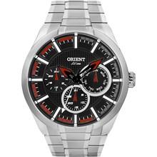 Relógio Orient Masculino Prata Preto MBSSM056 PVSX