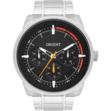 Relógio Orient Masculino Prata Preto MBSSM079 P1SX