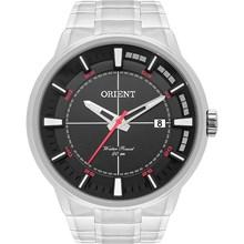 Relógio Orient Masculino Prata Preto Vermelho MBSS1308 P2SX