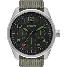 Relógio Orient Masculino Prata Verde MBSNM002 PEEX
