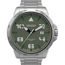 Relógio Orient Masculino Prata Verde MBSS1195A E2SX
