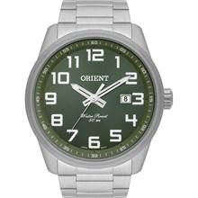 Relógio Orient Masculino Prata Verde MBSS1271 E2SX