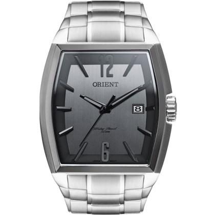 a71eef65da7 Relógio Orient Masculino Quadrado Prata Cinza GBSS1050 G2SX - My Time