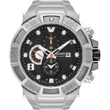 Relógio Orient Masculino Titânio Cronógrafo Prata Preto MBTTC012 P2GX